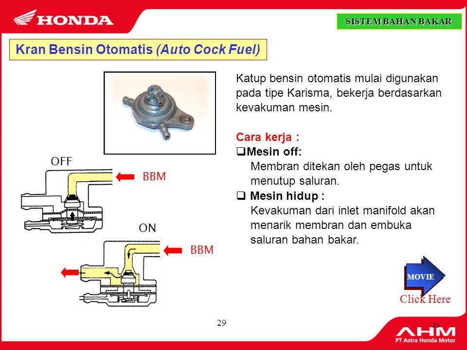 Kran Bensin Otomatis (Auto Cock Fuel)