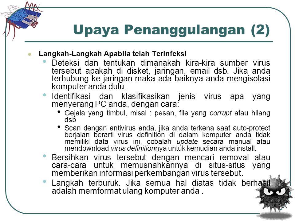 Upaya Penanggulangan (2)