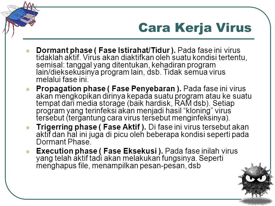 Cara Kerja Virus