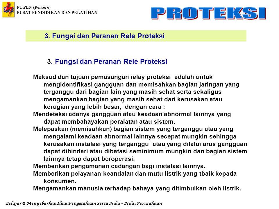 3. Fungsi dan Peranan Rele Proteksi