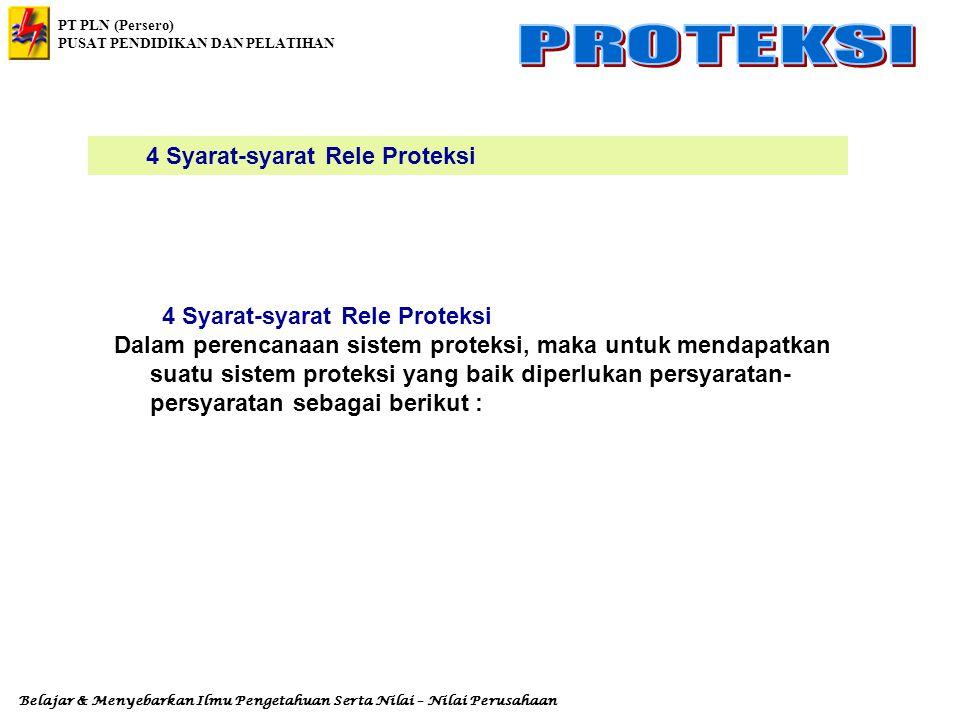 4 Syarat-syarat Rele Proteksi