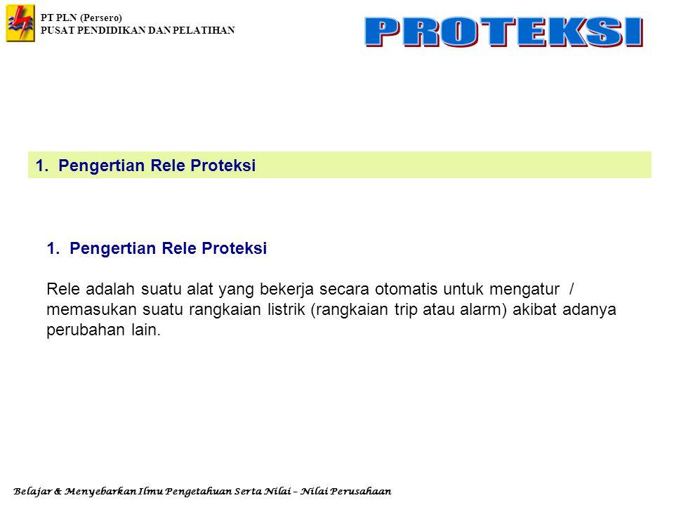 1. Pengertian Rele Proteksi