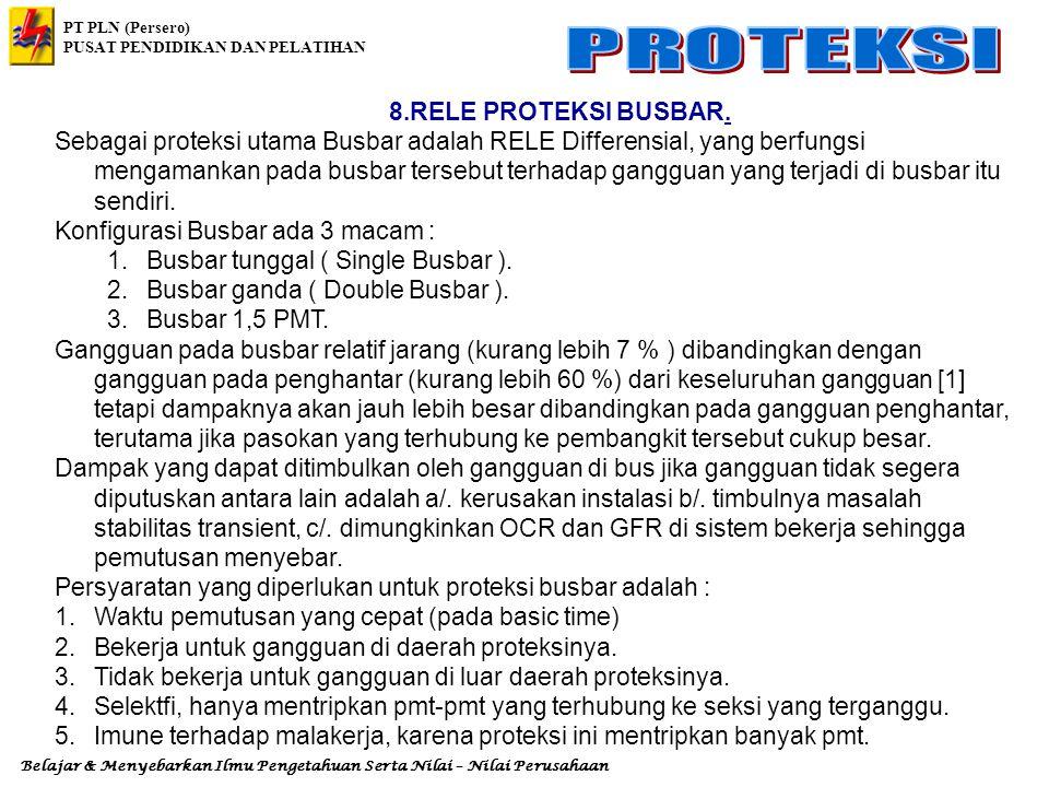 8.RELE PROTEKSI BUSBAR.