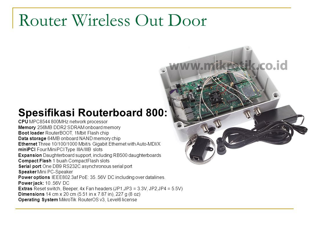 Router Wireless Out Door