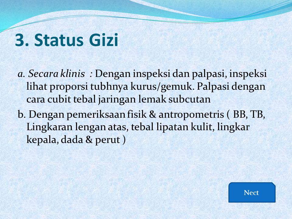 3. Status Gizi