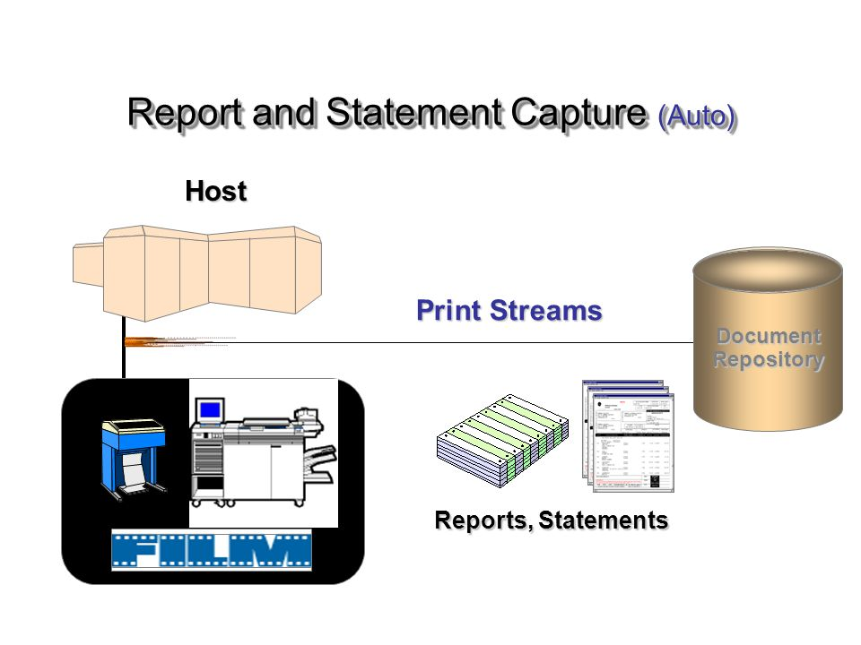 Report and Statement Capture (Auto)