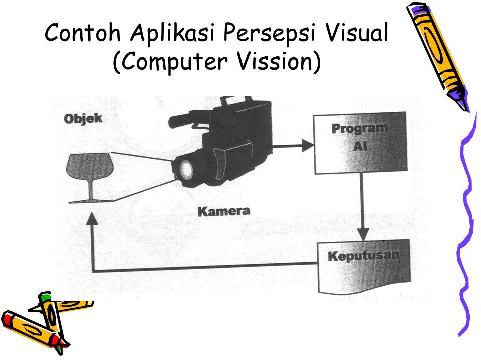 Contoh Aplikasi Persepsi Visual (Computer Vission)