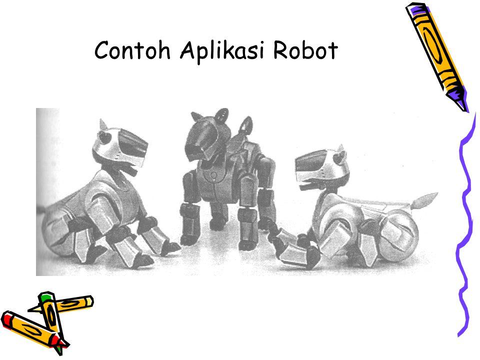 Contoh Aplikasi Robot