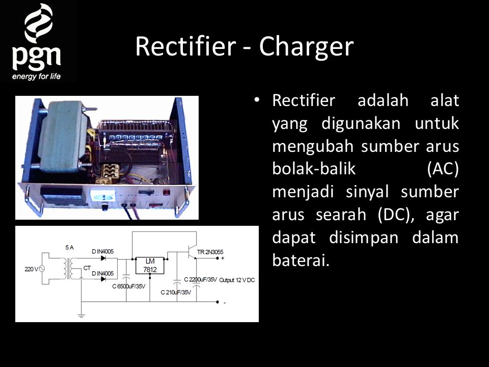 Rectifier - Charger