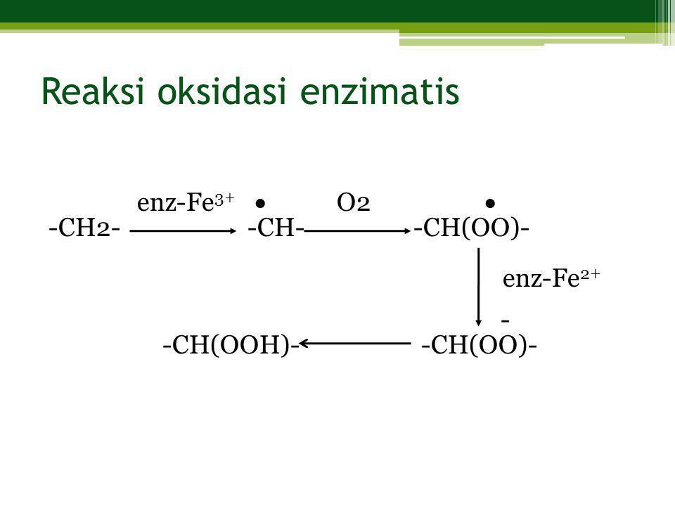 Reaksi oksidasi enzimatis