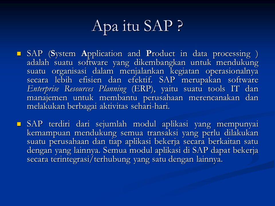Apa itu SAP
