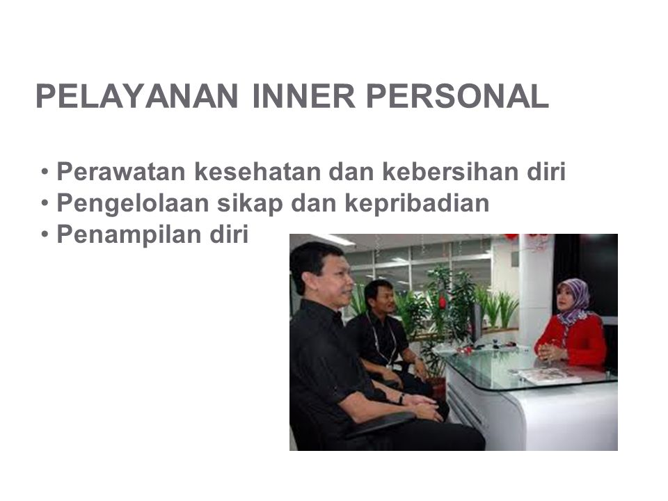PELAYANAN INNER PERSONAL