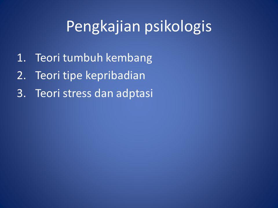 Pengkajian psikologis