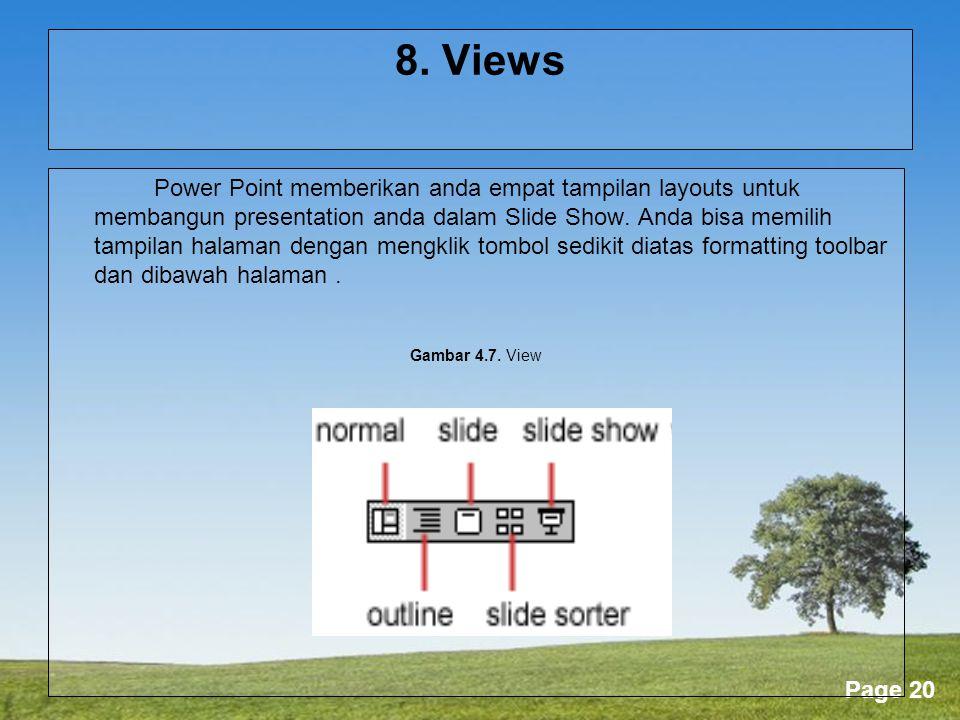 8. Views