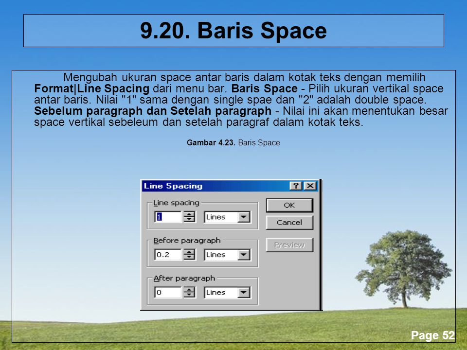 9.20. Baris Space