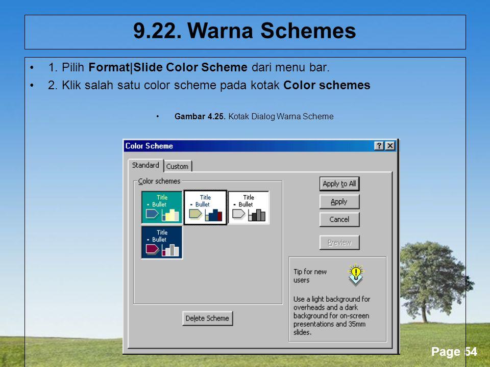 Gambar 4.25. Kotak Dialog Warna Scheme