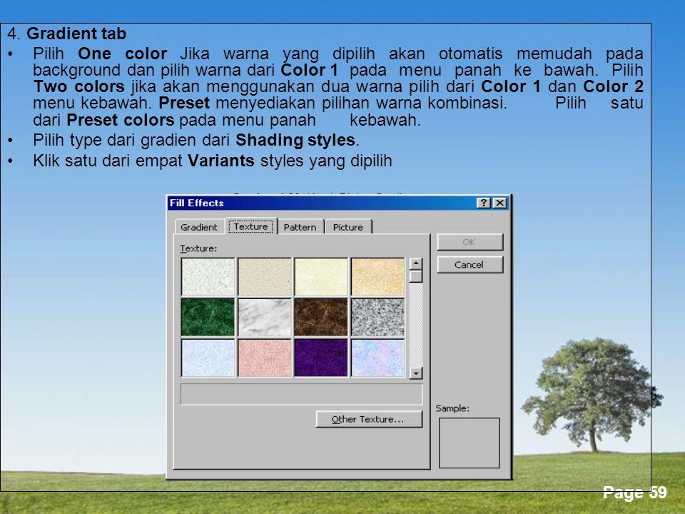 Gambar 4.30. Kotak Dialog Gradient