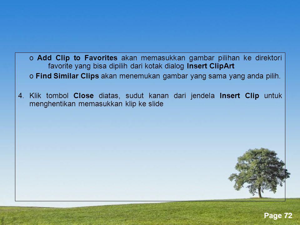 o Find Similar Clips akan menemukan gambar yang sama yang anda pilih.