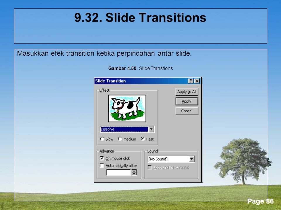 Gambar Slide Transtions