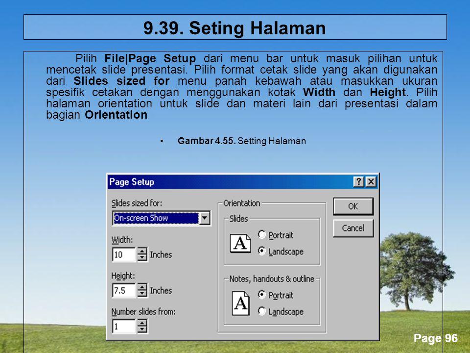 Gambar 4.55. Setting Halaman