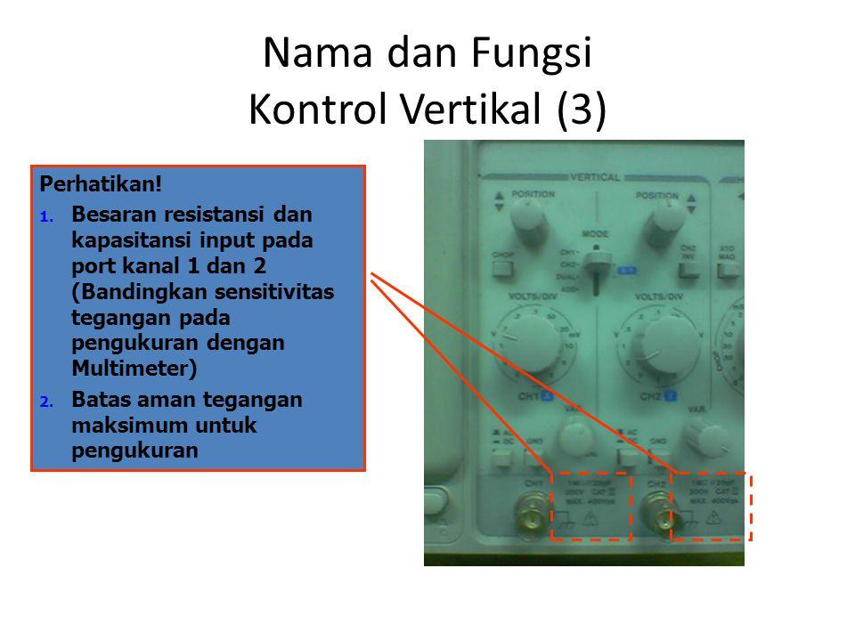 Nama dan Fungsi Kontrol Vertikal (3)