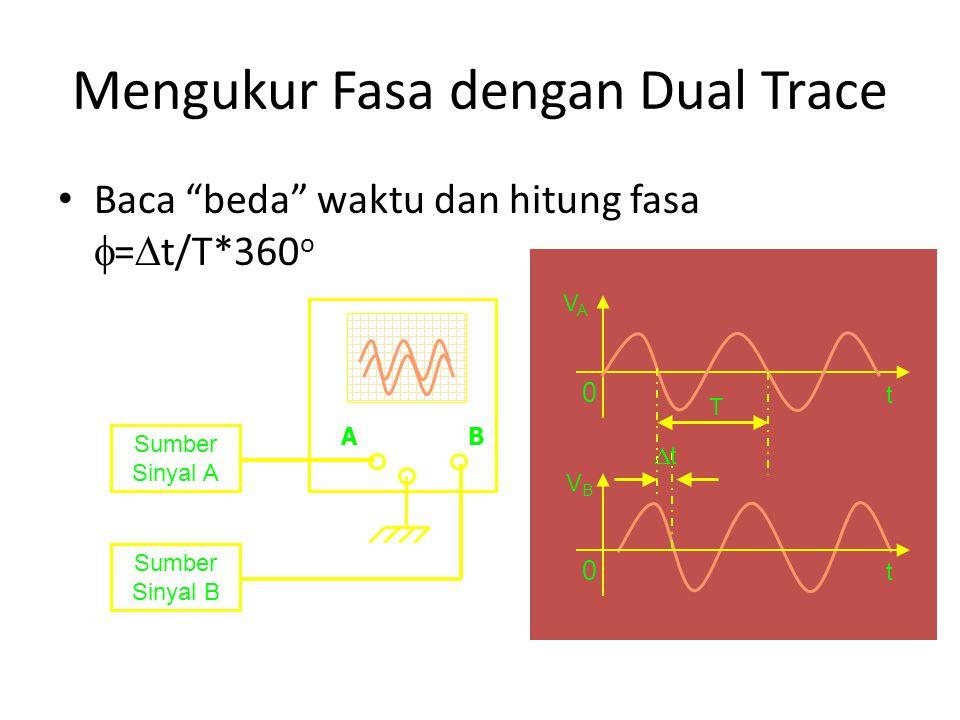 Mengukur Fasa dengan Dual Trace