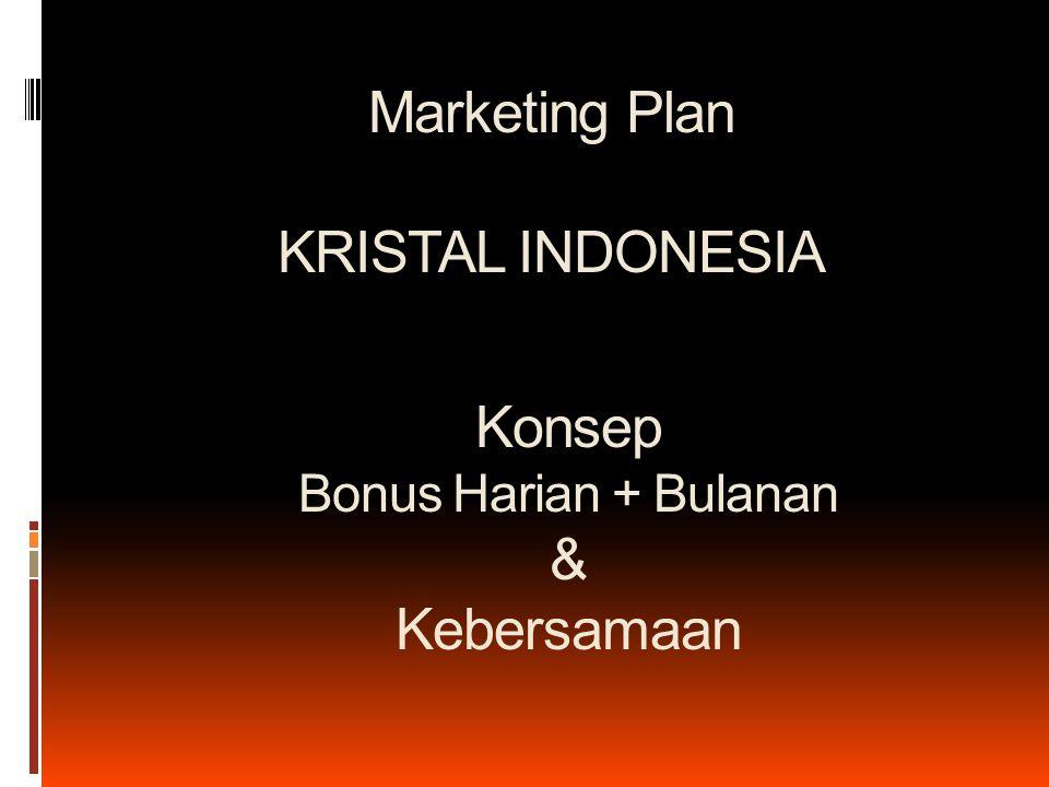 Marketing Plan KRISTAL INDONESIA