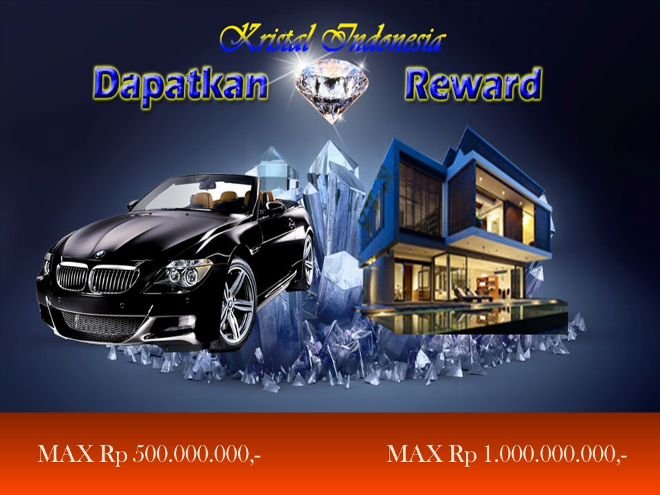 MAX Rp 500.000.000,- MAX Rp 1.000.000.000,-