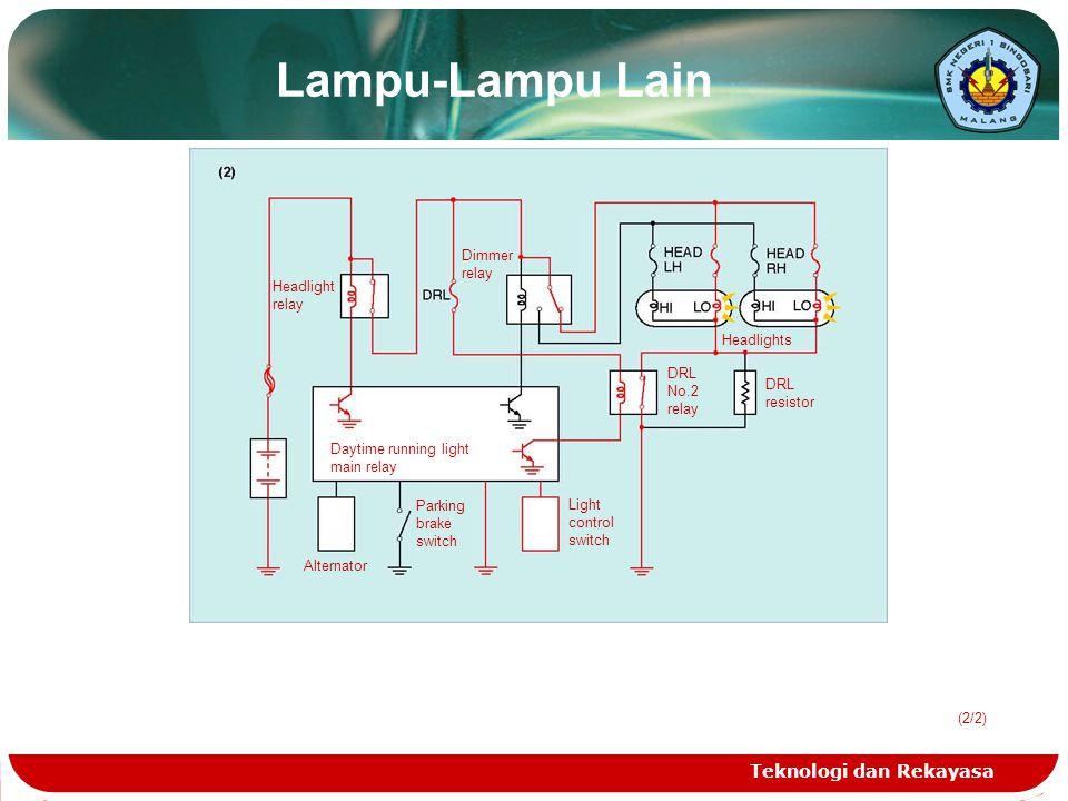 Lampu-Lampu Lain Teknologi dan Rekayasa Dimmer Headlight relay
