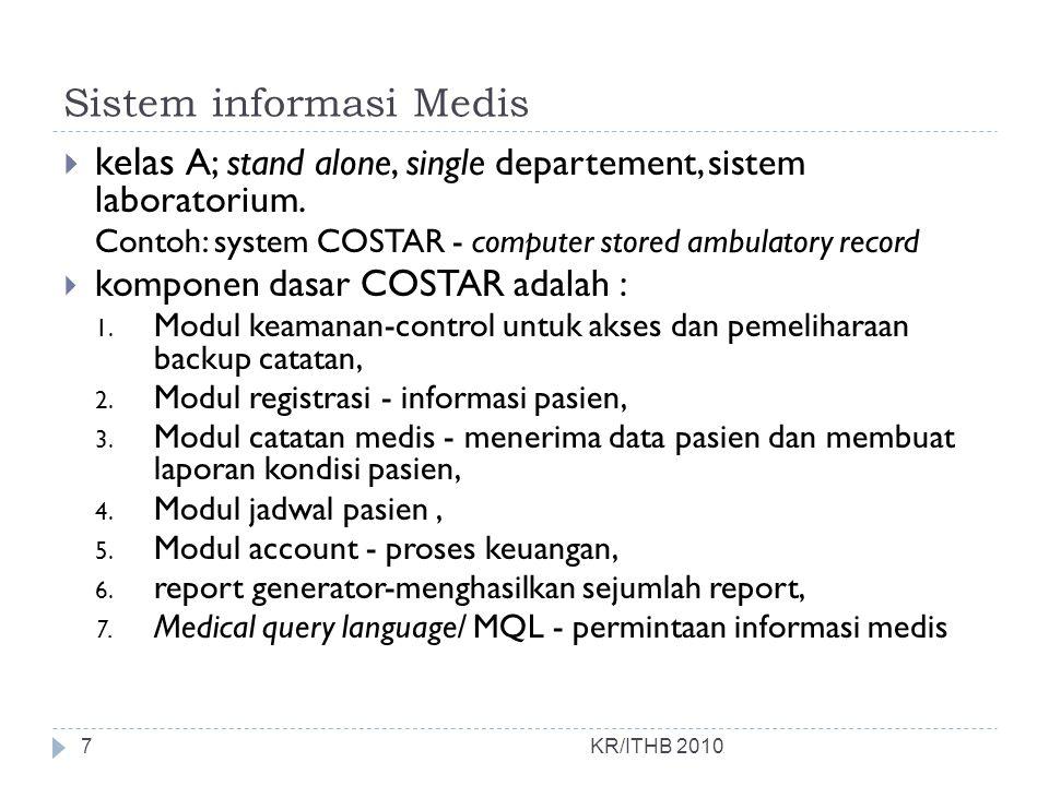 Sistem informasi Medis