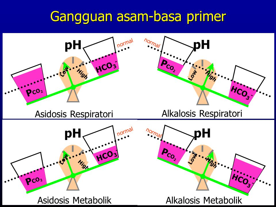 Gangguan asam-basa primer