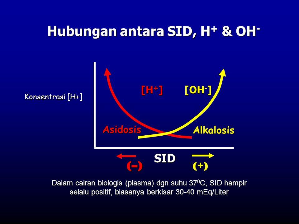 Hubungan antara SID, H+ & OH-