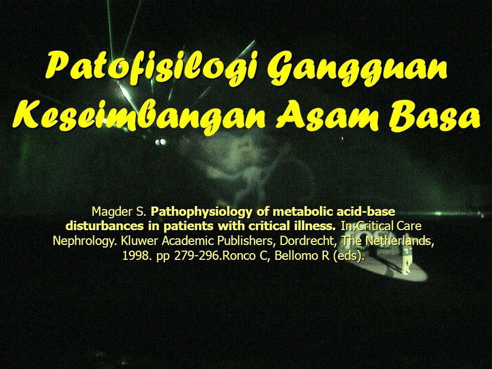 Patofisilogi Gangguan Keseimbangan Asam Basa