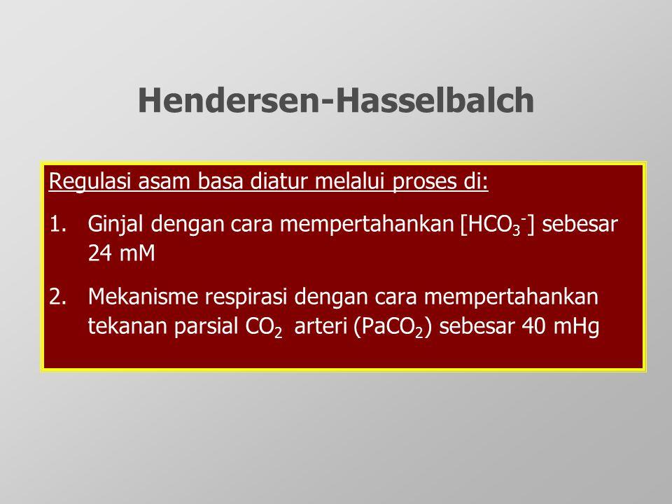 Hendersen-Hasselbalch