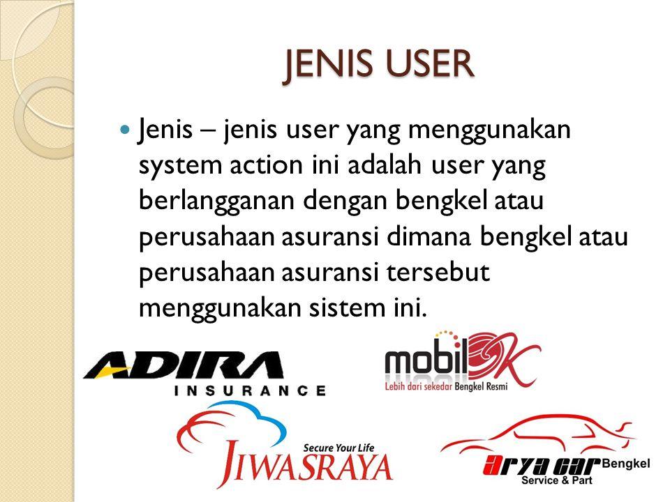 JENIS USER