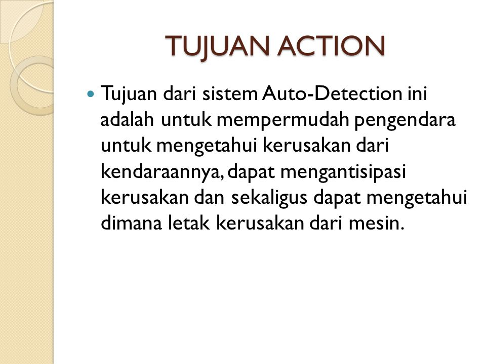 TUJUAN ACTION