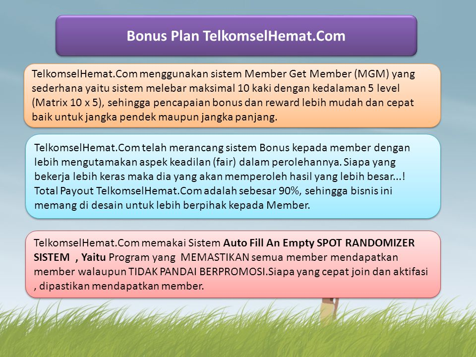 Bonus Plan TelkomselHemat.Com