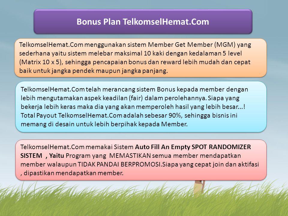 Bonus Plan TelkomselHemat.Com