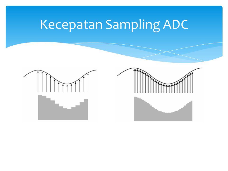Kecepatan Sampling ADC