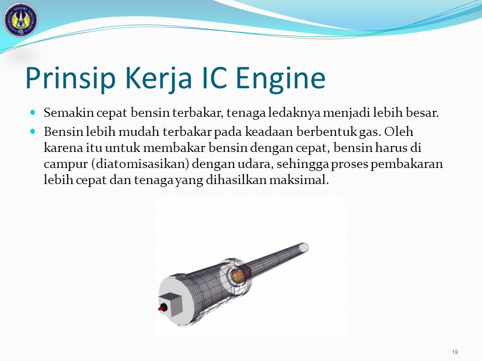 Prinsip Kerja IC Engine