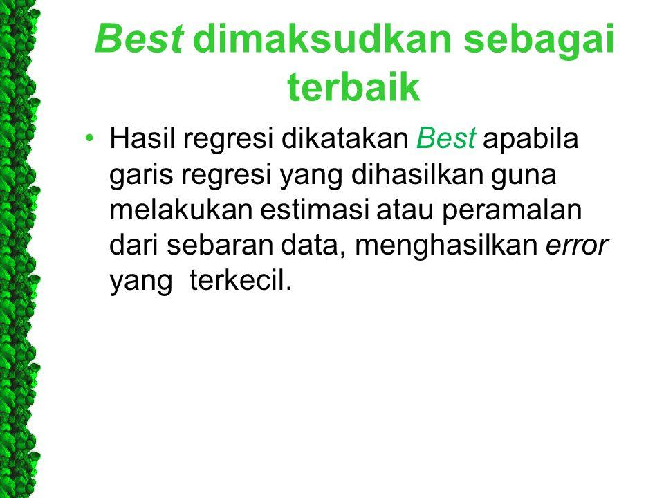 Best dimaksudkan sebagai terbaik