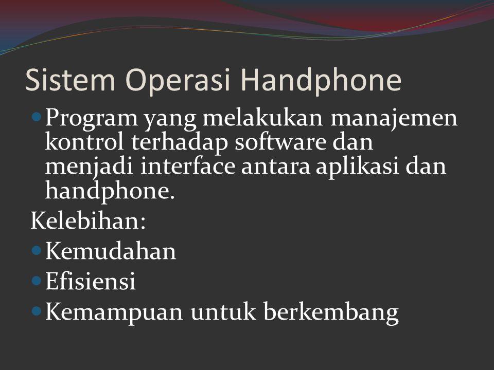 Sistem Operasi Handphone