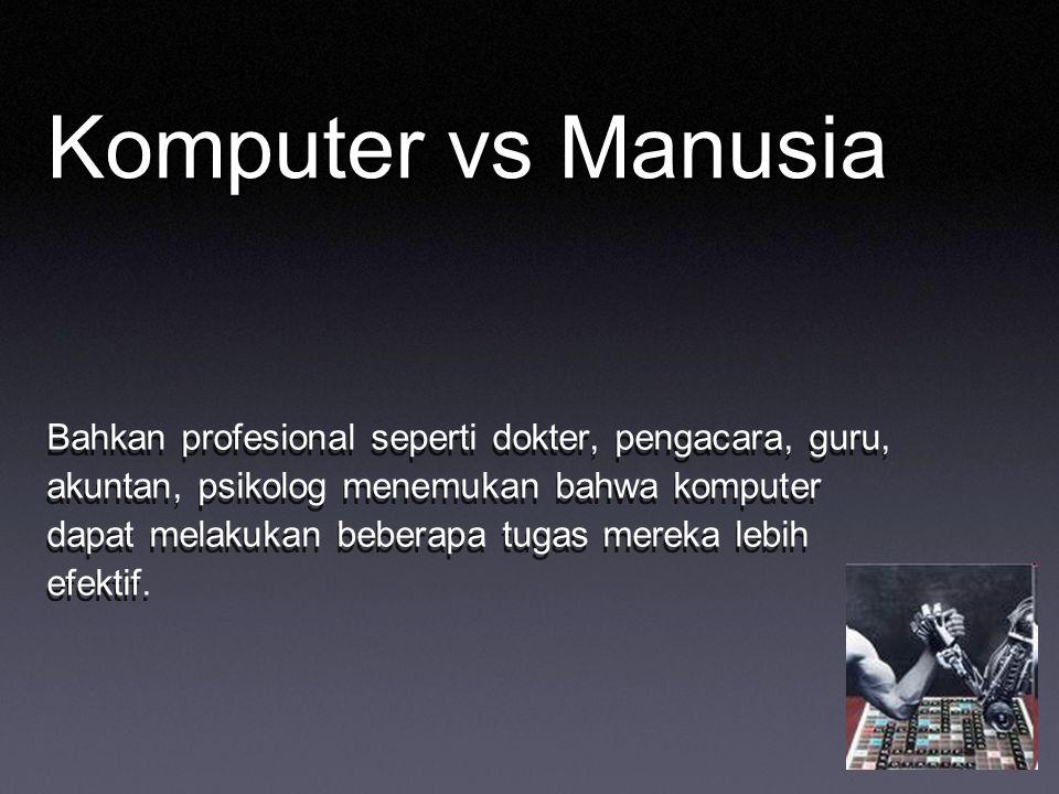 Komputer vs Manusia