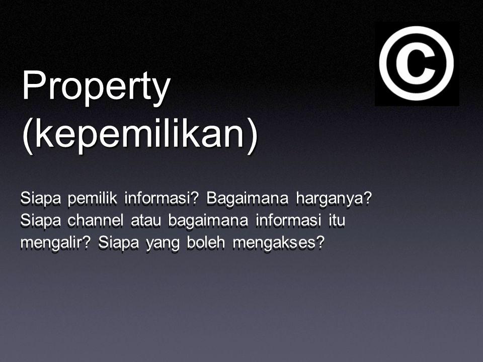 Property (kepemilikan)