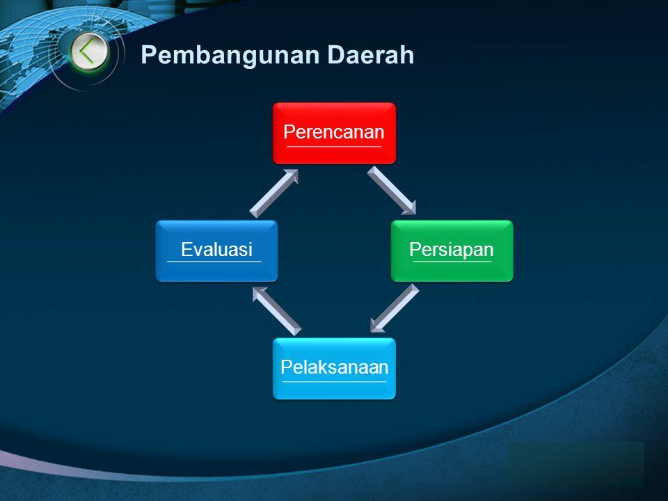 Pembangunan Daerah www.themegallery.com Perencanan Persiapan