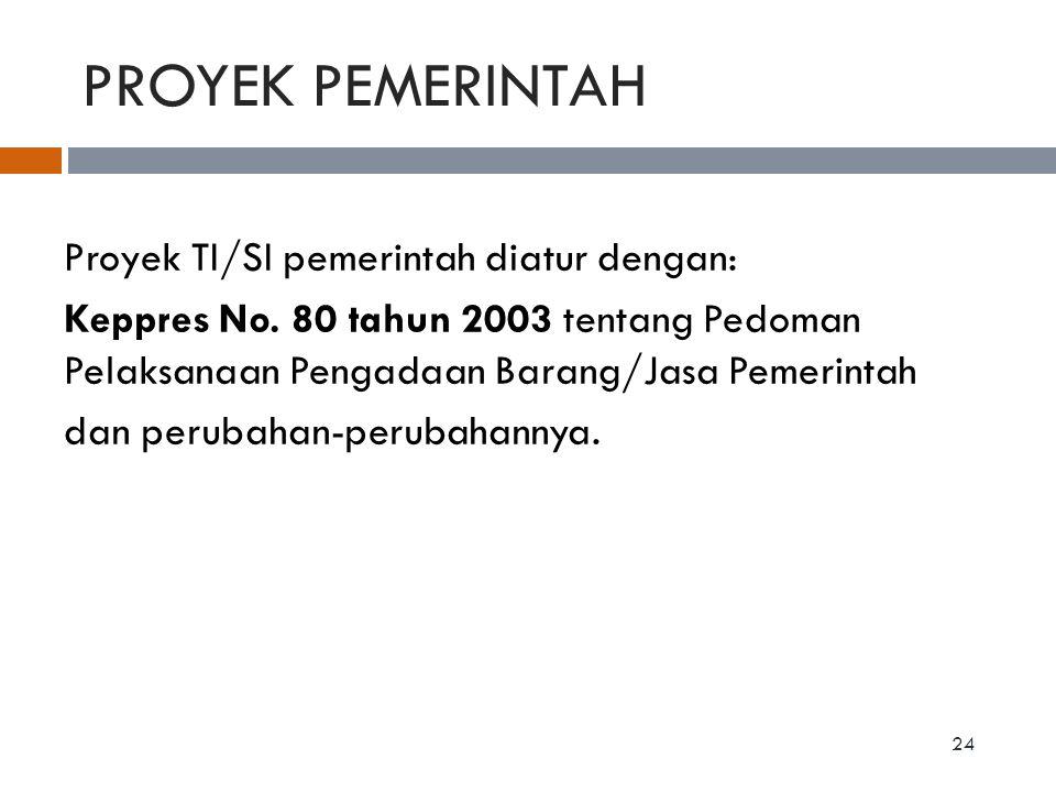 PROYEK PEMERINTAH