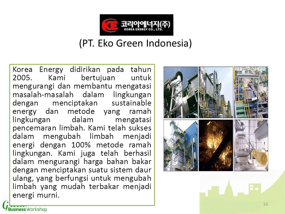 (PT. Eko Green Indonesia)