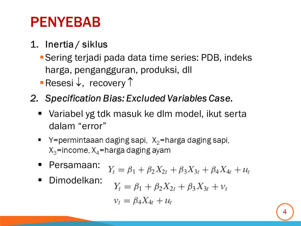 Penyebab Inertia / siklus