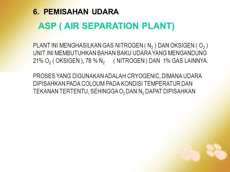 ASP ( AIR SEPARATION PLANT)
