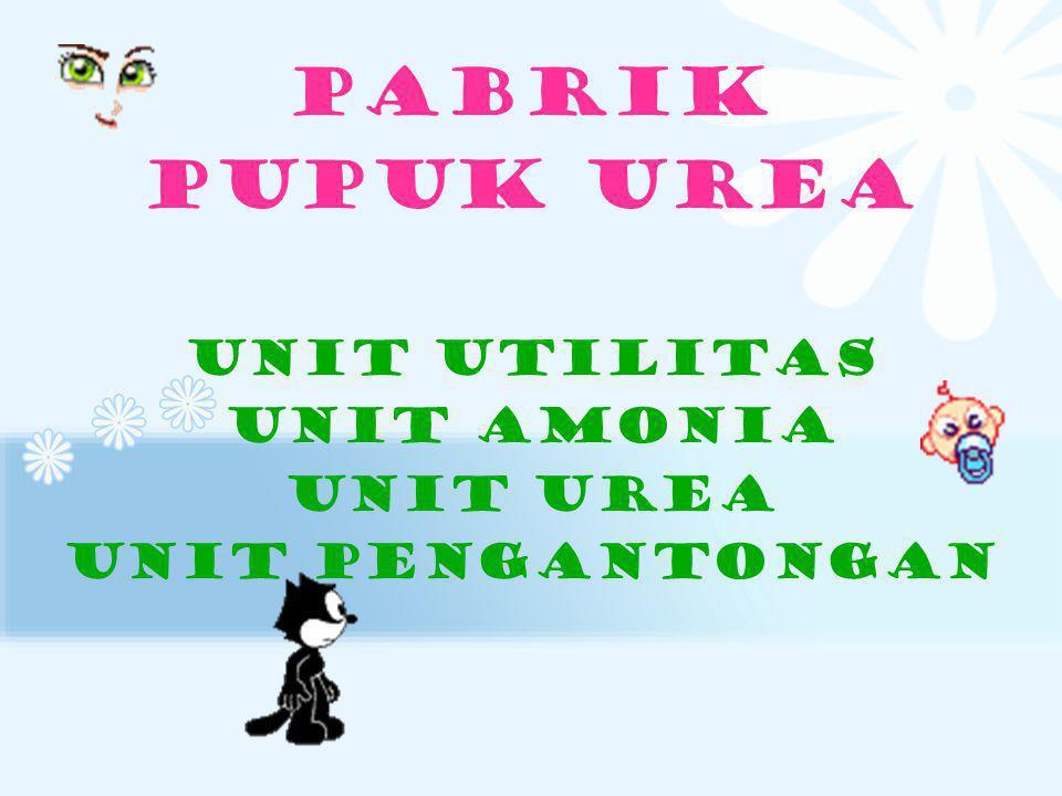 PABRIK PUPUK UREA Unit utilitas Unit amonia Unit urea